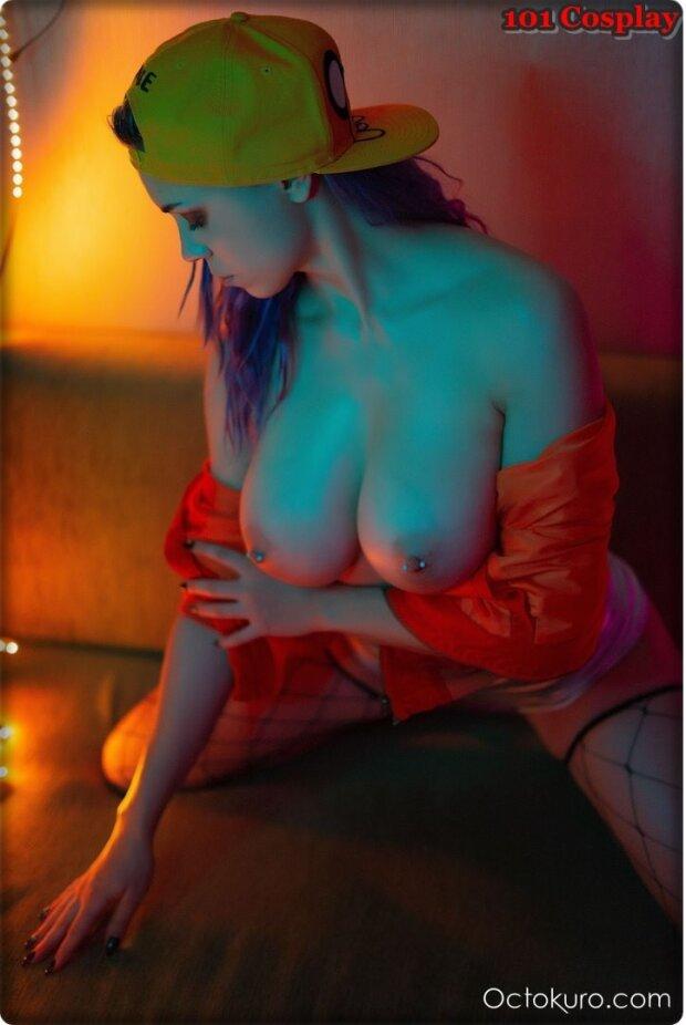 Erotic neon cosplay (101 Cosplay and Art)
