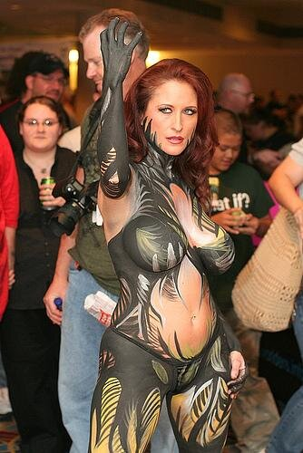Naked Cosplay 93