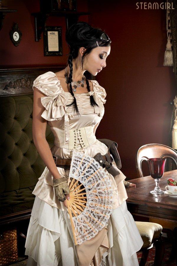 steampunk babe