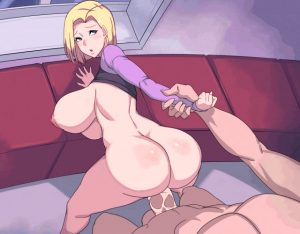 android 18 hentai gif