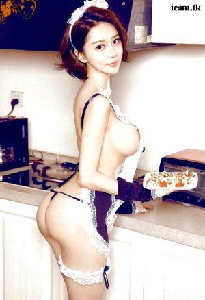Asian in uniform