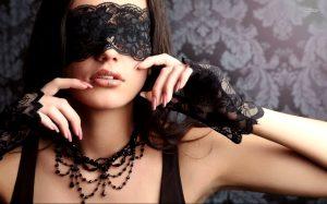 Black Lace mask