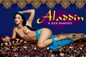 Cosplay Porn Aladdin Parody