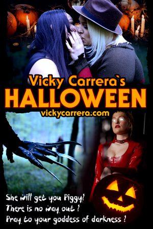 Halloween Flyer from Mistress Vicky Carrera