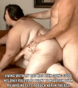 hotwife cuckold caption bbw