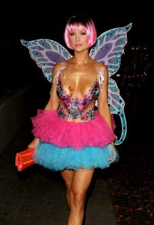 Joanna Krupa – Body Paint and Costume Fairy