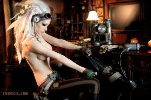 Kate Lambert, Kato, Steamgirl – So Cool!