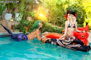 Kato mermaid and a pirate blonde 50 photo