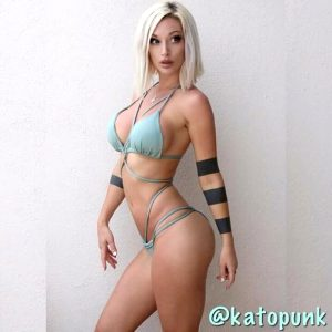 Kato on bikini