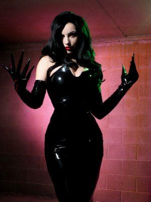 KatyushkaMoonFox cosplaying as Lust