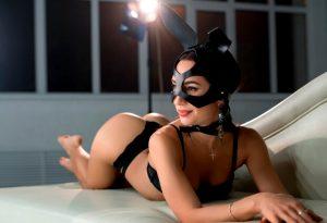 Leather Bunny Mask – BDSM