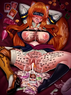 Raphtalia in bdsm roleplay sex