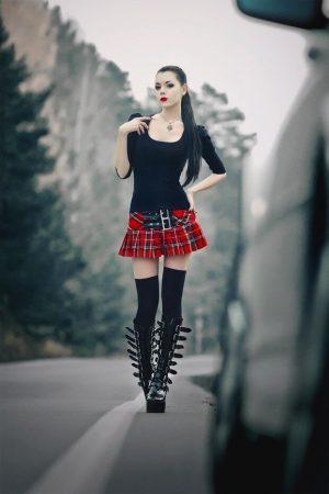 #sexy #goth #schoolgirl #hottie #pale #beautiful #emo #uniform #plaidskirt #boots #fetish #lovely #young #catholic #slut #hot #naughty #babe