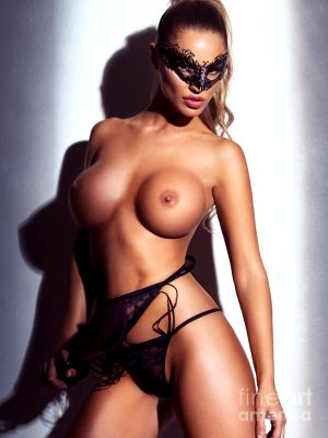 sexy-topless-woman-wearing-face-mask-oleksiy-maksymenko