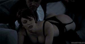 Spanking sexy redhead – erotic xxx gif