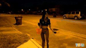 Vina Sky – Vina Sky Trick Or Treats For Dick On Halloween! GIF
